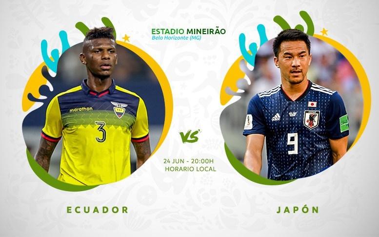 Copa América En Vivo - Japon vs Ecuador