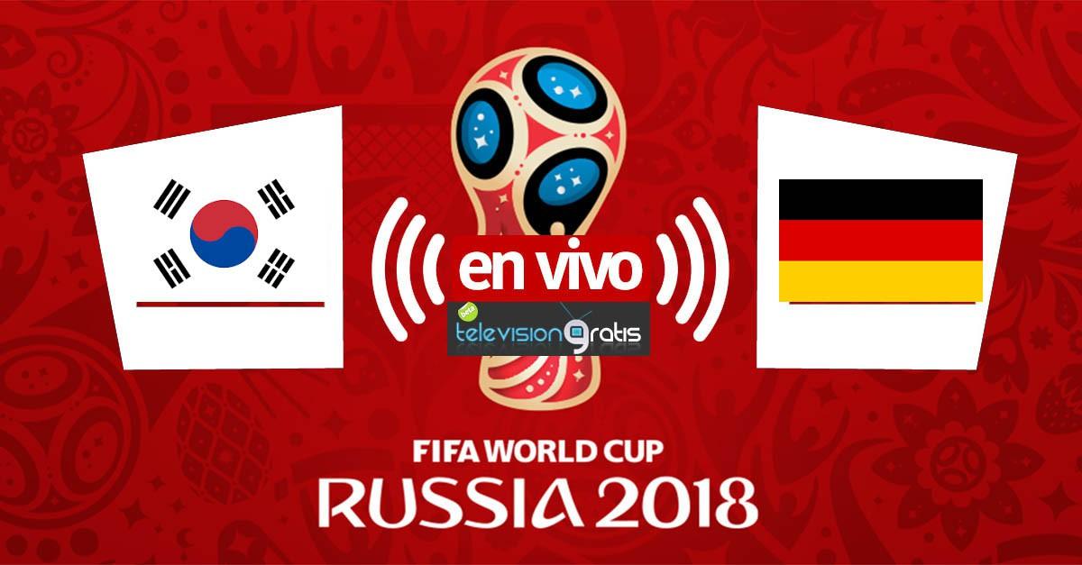 Corea del Sur vs Alemania en vivo