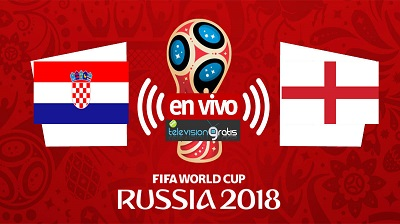 Croacia vs Inglaterra En Vivo - Semifinal Mundial Rusia 2018