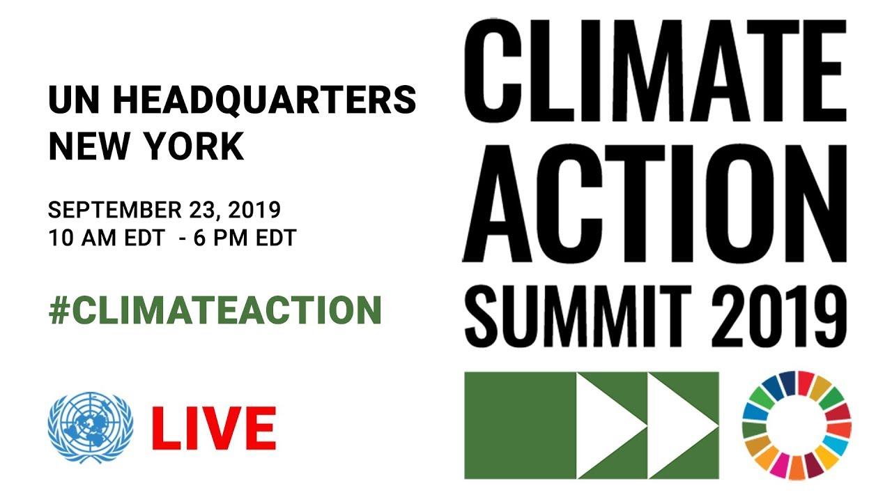 Cumbre de Acción Climática 2019 EN VIVO