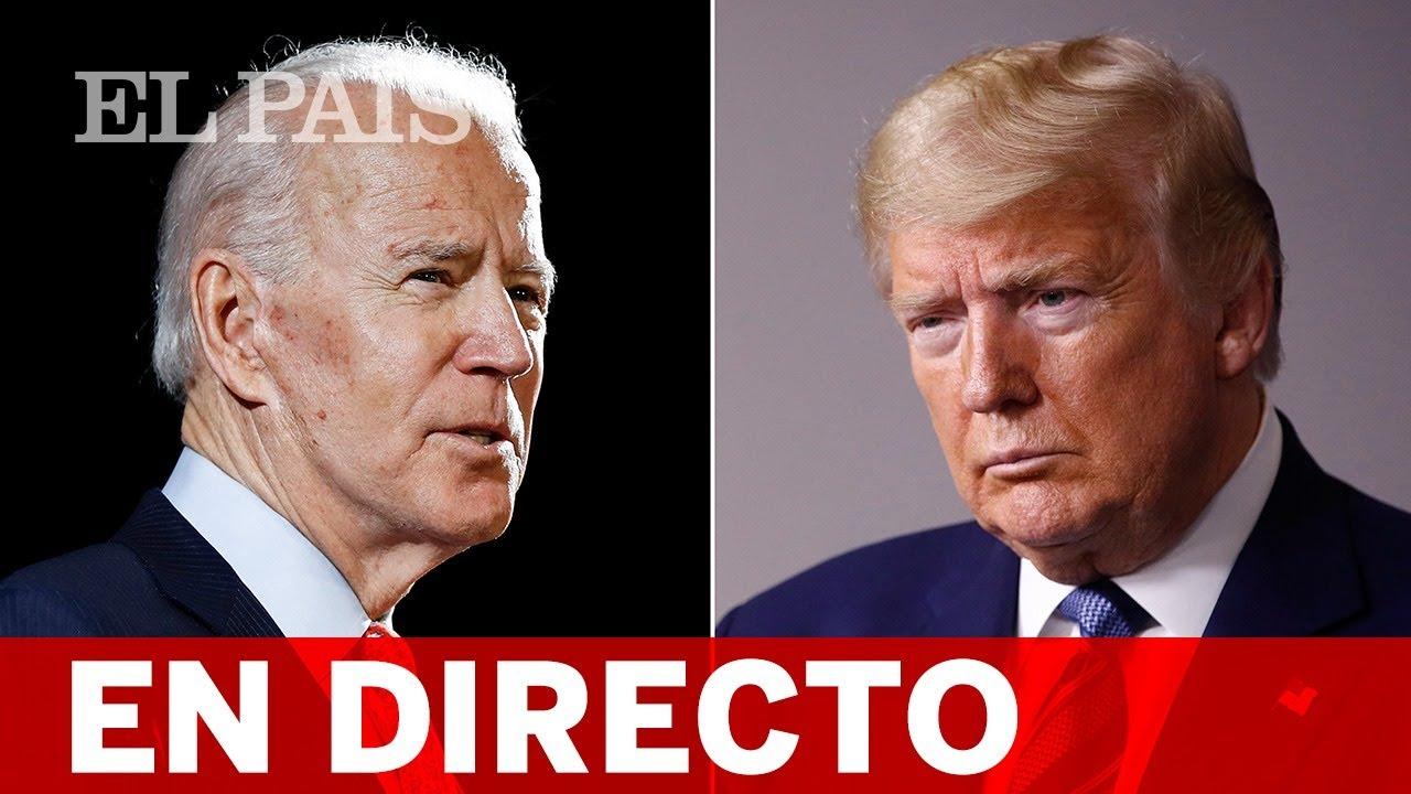 DEBATE Presidencial entre BIDEN y TRUMP