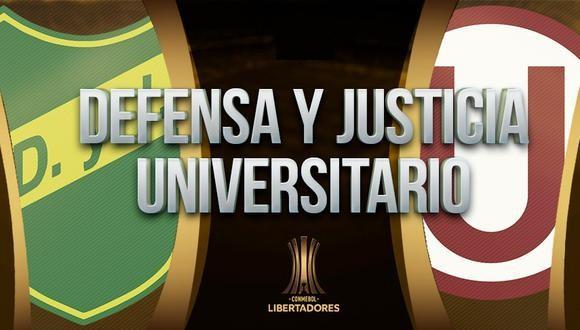 Defensa y Justicia vs Universitario EN VIVO - Copa Libertadores