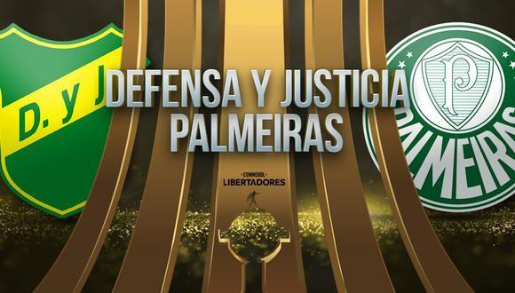 Defensa y Justicia vs Palmeiras EN VIVO - Copa Libertadores