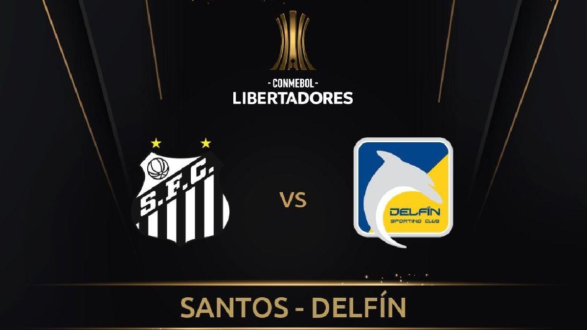 Delfín vs Santos EN VIVO - Ver la Copa Libertadores