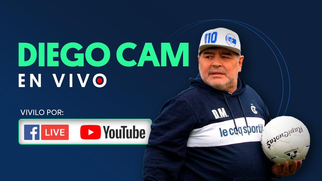 Diego Cam En Vivo - Gimnasia vs Racing