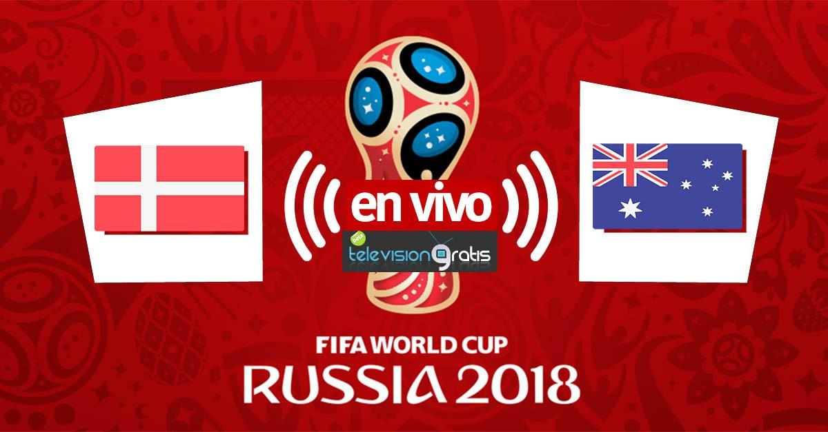 Dinamarca vs Australia en vivo