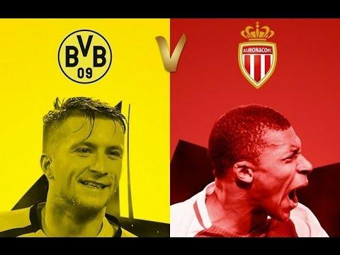Borussia Dortmund vs Mónaco En Vivo - Champions League Online