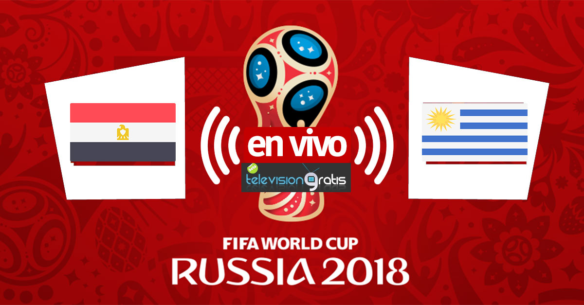 Egipto vs Uruguay en vivo y highlights