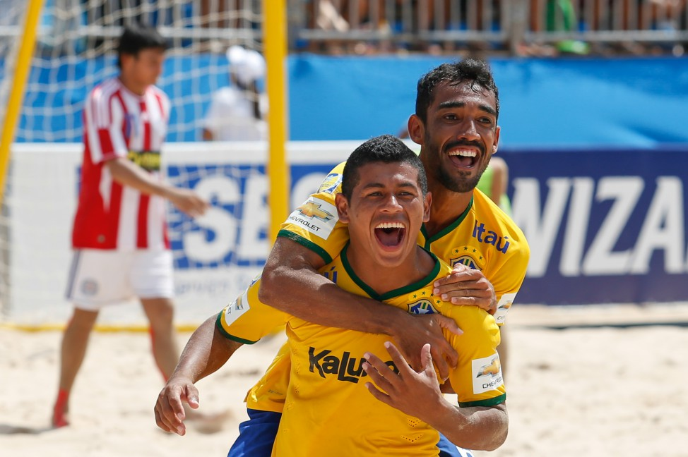 Eliminatorias futbol de playa en vivo