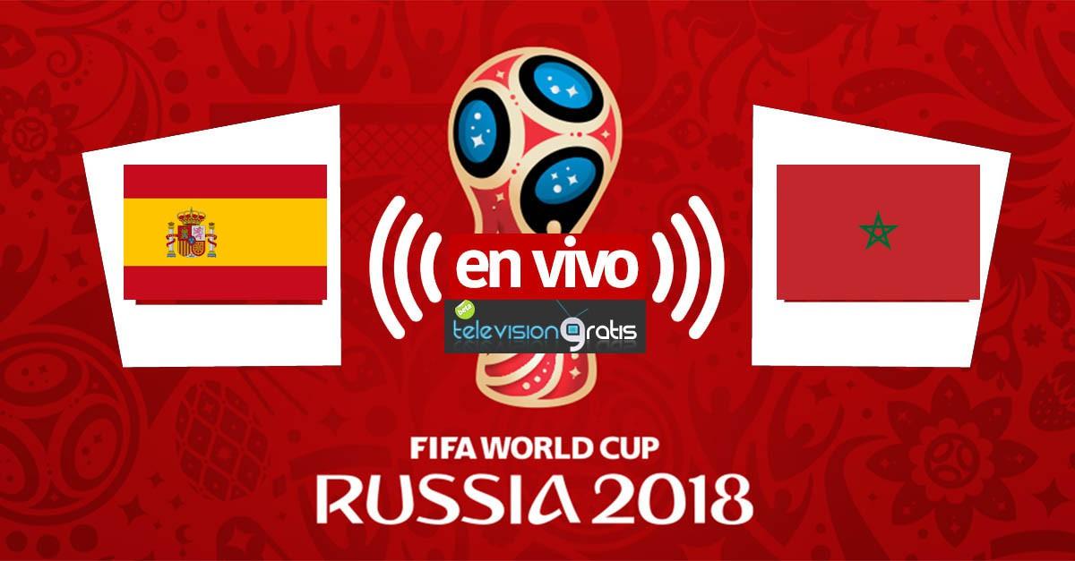 España vs Marruecos en vivo