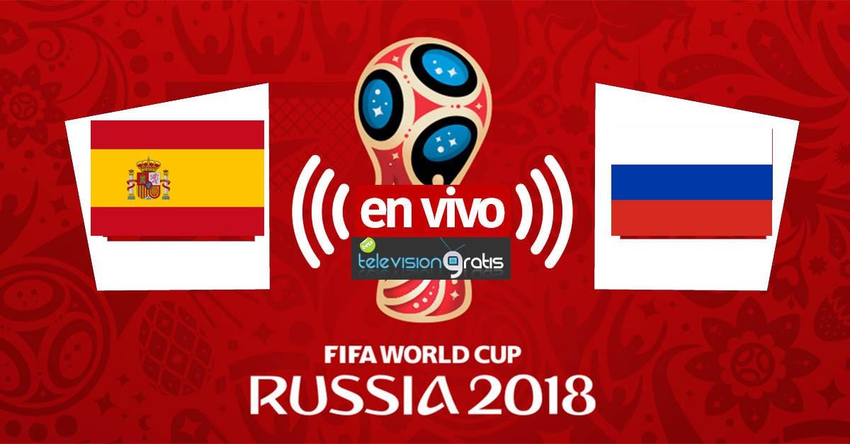 España vs Rusia En Vivo - Octavos de Final - Rusia 2018