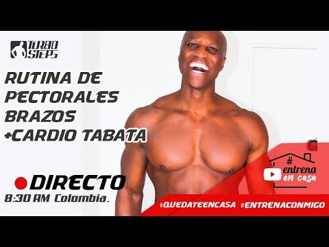 Fausto Murillo EN VIVO - Entrena en casa