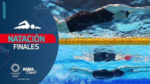 Final Natación EN VIVO - Olimpiadas Tokyo