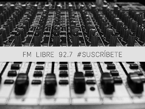FM LIBRE 92.7 EN VIVO