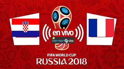 Francia vs Croacia En Vivo -  FINAL Mundial Rusia 2018