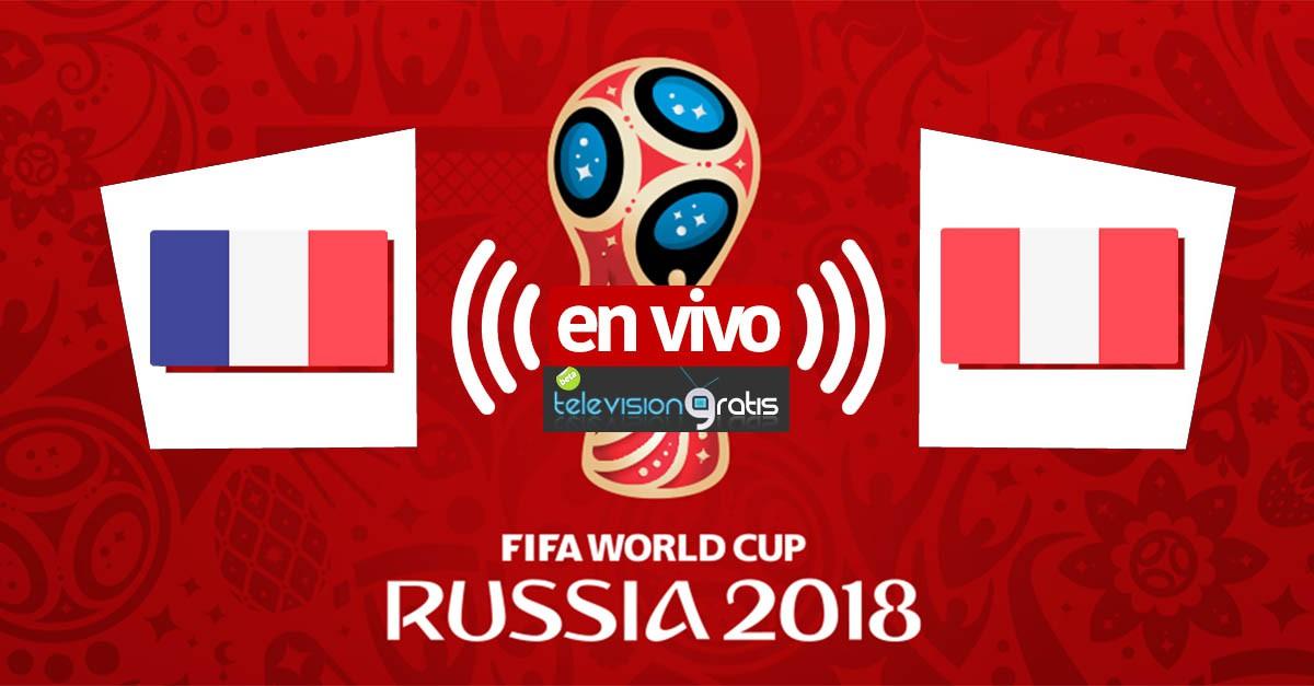Francia vs Peru en en vivo