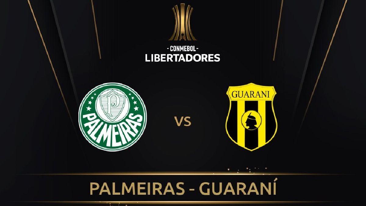 Guaraní vs Palmeiras - Ver la Copa Libertadores