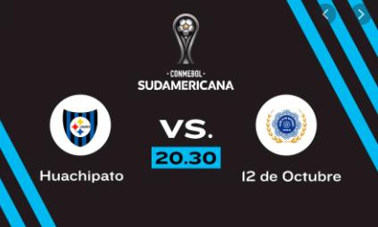Huachipato vs 12 de Octubre EN VIVO - Copa Sudamericana