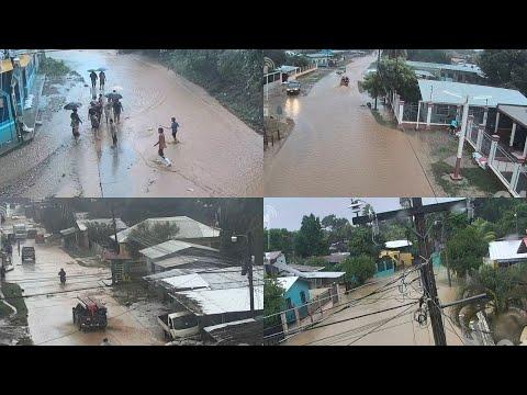 HURACAN IOTA EN VIVO - Nicaragua, Honduras y Guatemala - Monitoreo 24 Hrs