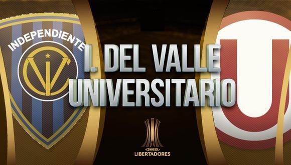 Independiente del Valle vs Universitario EN VIVO - Copa Libertadores