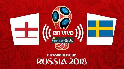 Inglaterra vs Suecia En Vivo - Cuartos de Final Mundial Rusia 2018