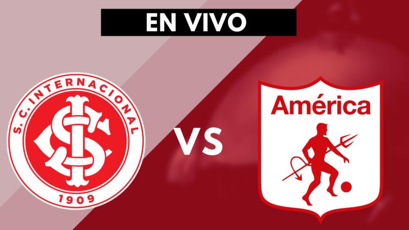Internacional vs América de Cali - Copa Libertadores EN VIVO