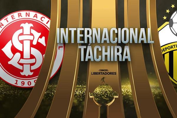 Internacional vs Deportivo Táchira EN VIVO - Copa Libertadores