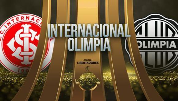 Internacional vs Olimpia EN VIVO - Copa Libertadores