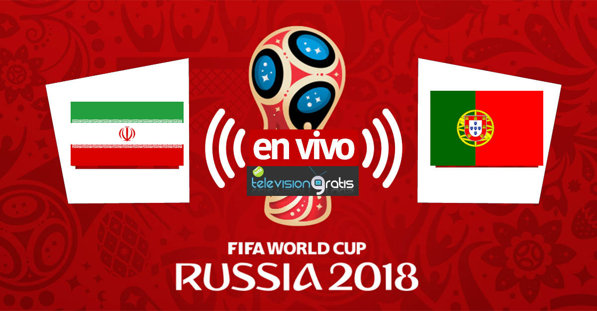 Irán vs Portugal en vivo