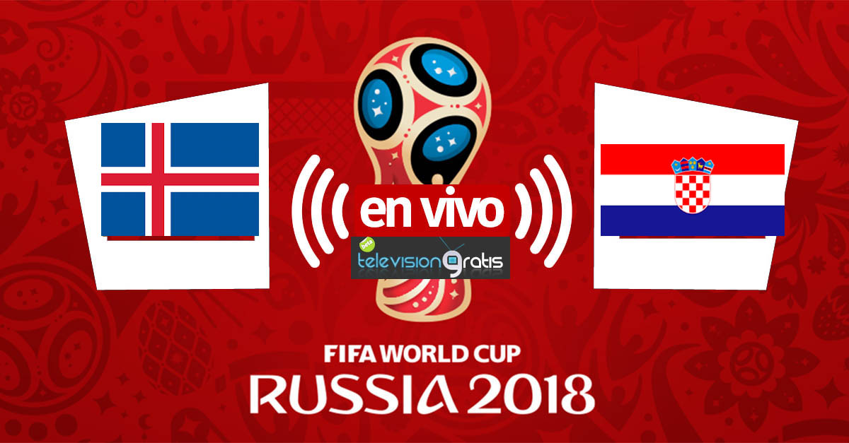 Islandia vs Croacia en vivo