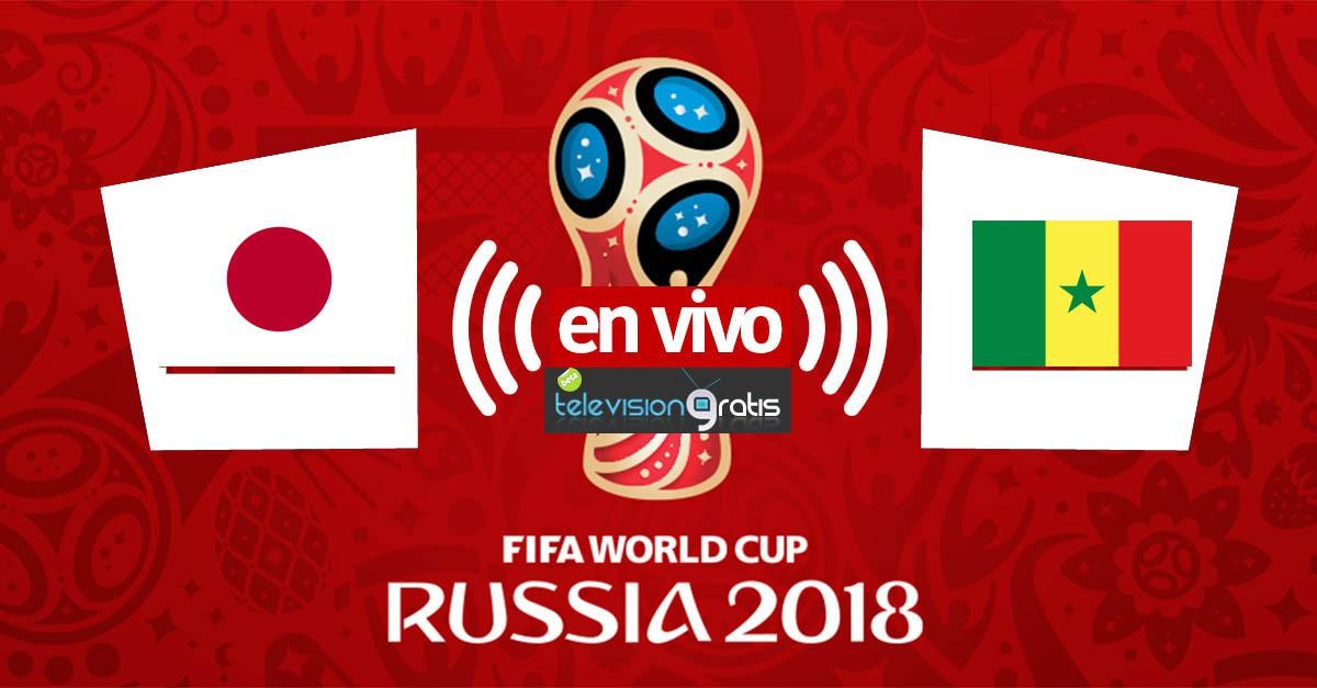 Japón vs Senegal en vivo