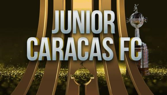 Junior vs Caracas EN VIVO - Copa Libertadores