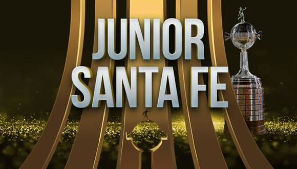 Junior vs Santa Fé EN VIVO - Copa Libertadores