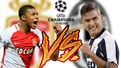 Juventus vs Mónaco En Vivo - Champions League Online