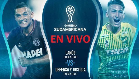 Lanús vs Defensa y Justicia EN VIVO - Ver la Final de la Copa Sudamericana EN DIRECTO