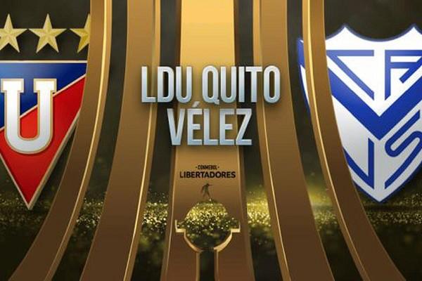 LDU Quito vs Vélez EN VIVO - Copa Libertadores