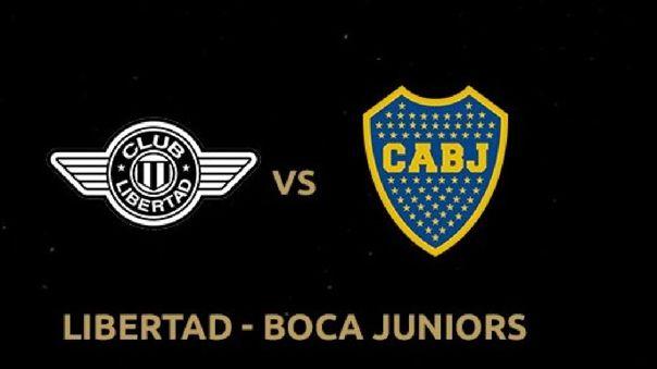 Libertad vs Boca Juniors - Copa Libertadores