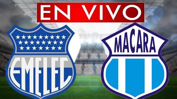 Macará vs Emelec EN VIVO - Copa Sudamericana