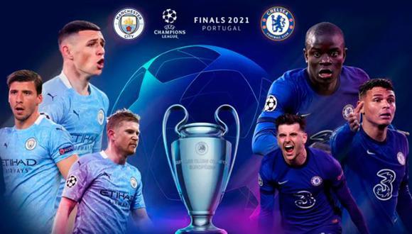 Manchester City vs Chelsea EN VIVO - Final de la Champions League