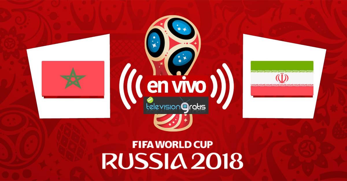 Marruecos vs Irán en vivo