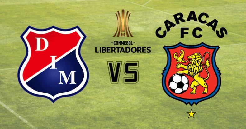 Medellin vs Caracas EN VIVO - Ver la Copa Libertadores