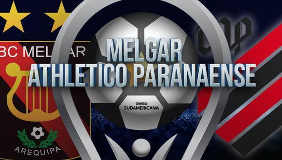 Melgar vs Paranaense EN VIVO - Copa Sudamericana