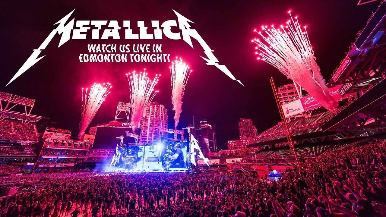 Metallica EN VIVO desde Edmonton, Canada