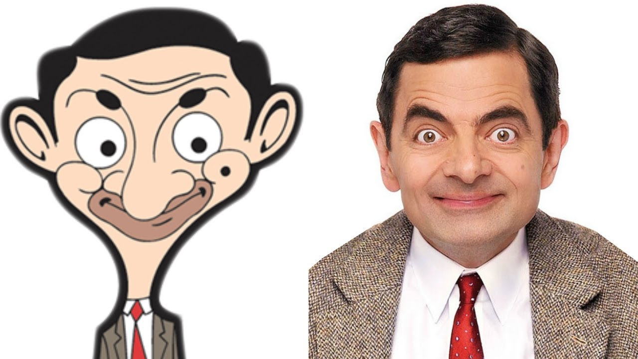 Mr Bean dibujito animado en vivo