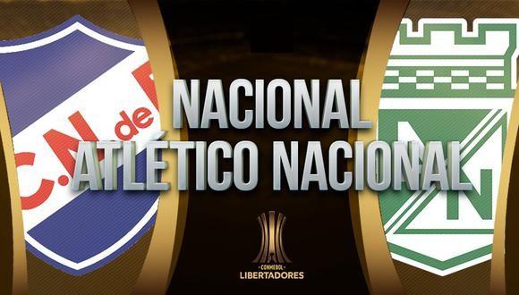 Nacional vs Atlético Nacional EN VIVO - Copa Libertadores