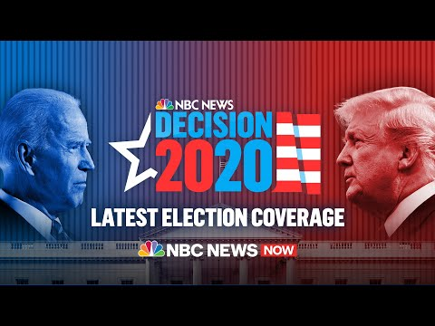 NBC News - Resultados Elecciones 2020: Donald Trump vs Joe Biden EN VIVO