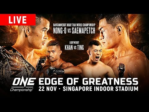 ONE Championship: EDGE OF GREATNESS EN VIVO
