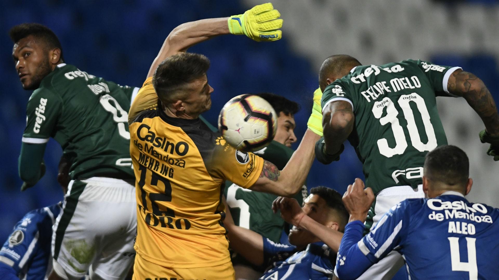 Palmeiras vs Godoy Cruz - Copa Libertadores EN VIVO