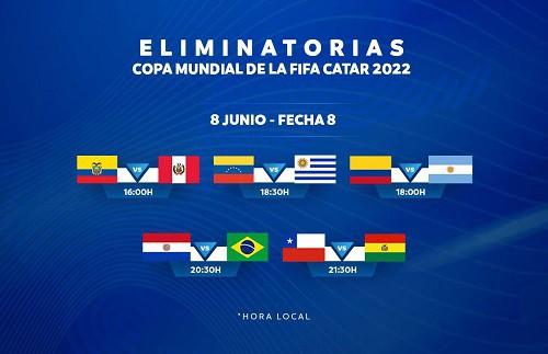 Paraguay vs Brasil EN VIVO - Eliminatorias Catar 2022