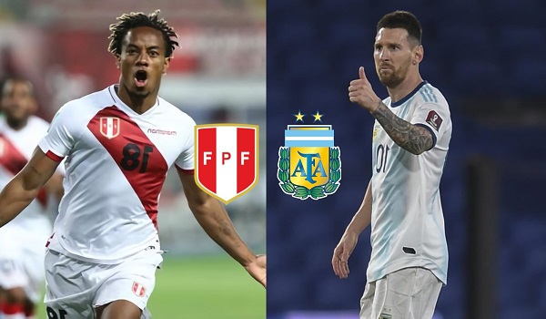 Perú vs Argentina - EN VIVO - Eliminatorias Qatar 2022